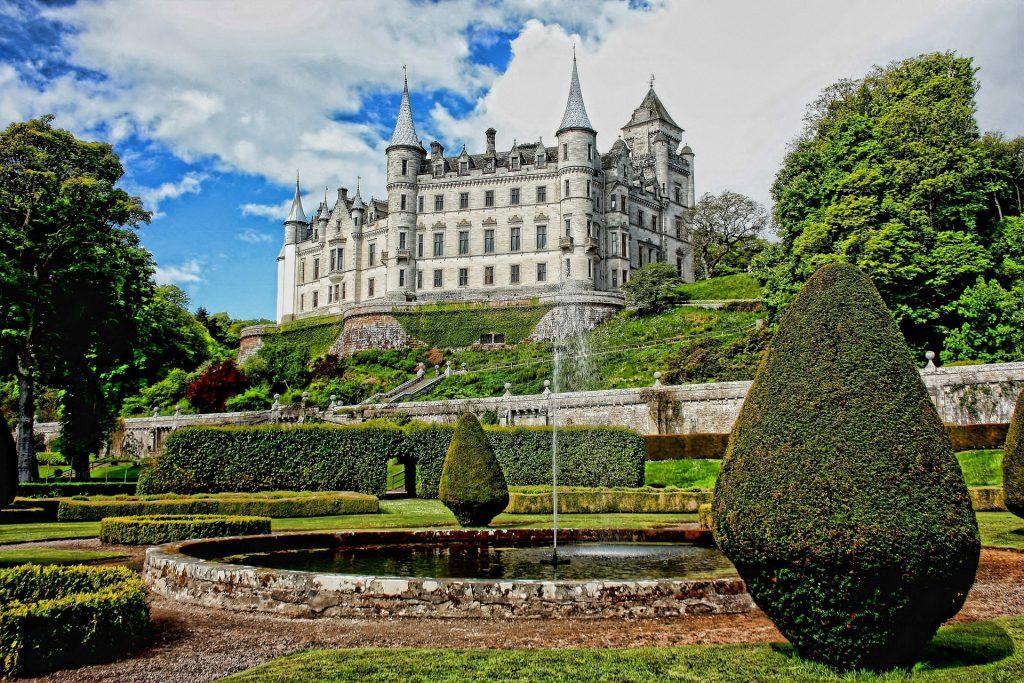 Castello di Dunrobin, Scozia