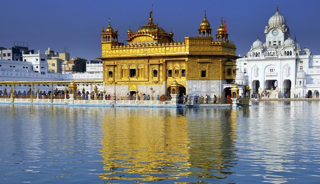 Amritsar, gold temple, India
