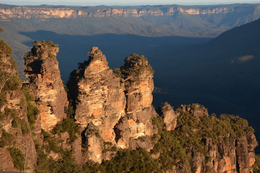 Three sisters, Blue Mountains parco nazionale