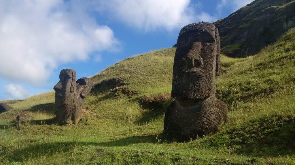 Rapa nui, Isola di Pasqua statue dei moai