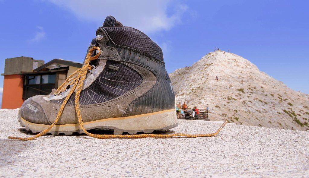 manutenzione scarpe da montagna