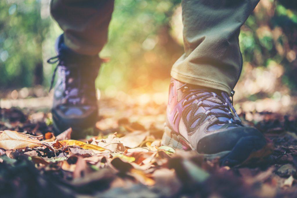 pulizia scarpe da trekking