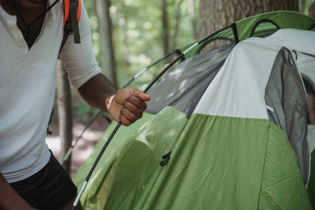 montare la tenda