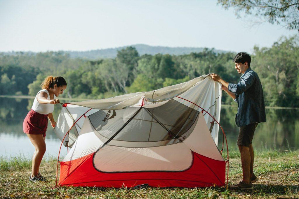 telo esterno della tenda da campeggio