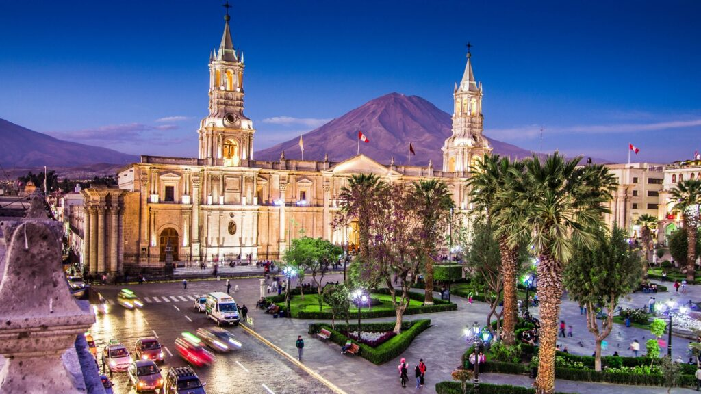 Arequipa, Ande