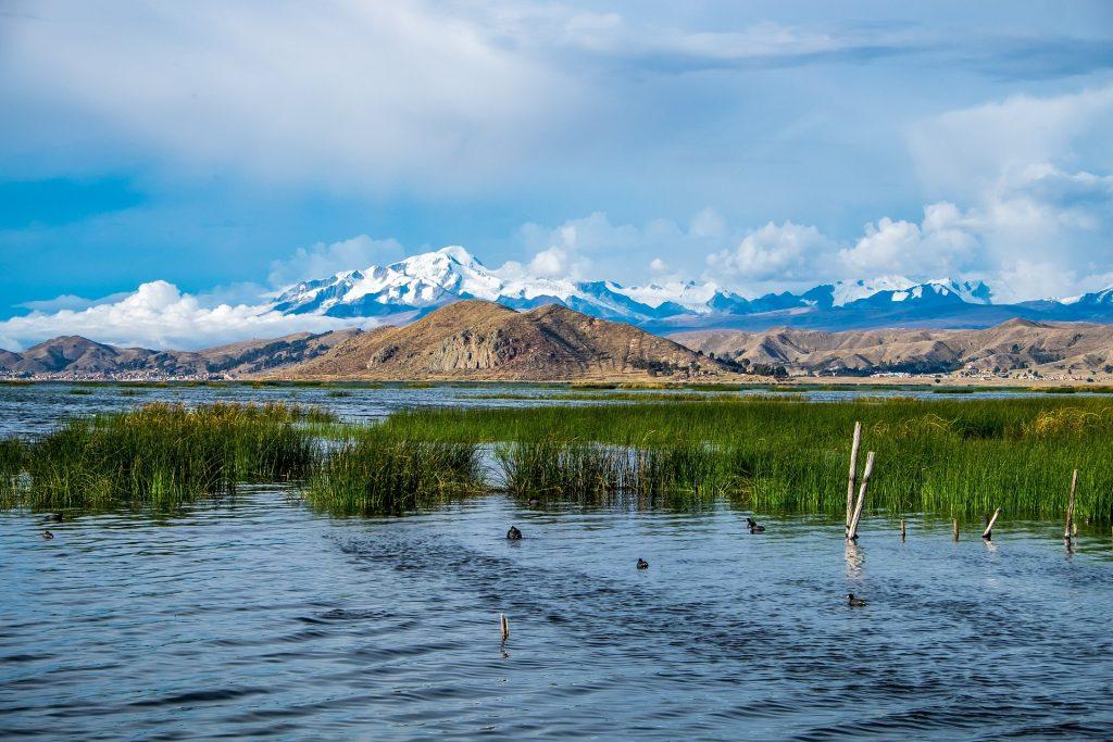 Lago Titicaca,  America