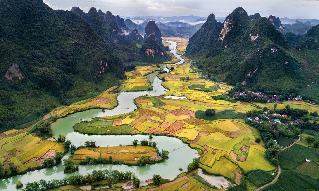 Vietnam, Cina, terrazzamenti, on the road