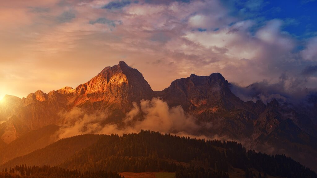 Bivacco in montagna