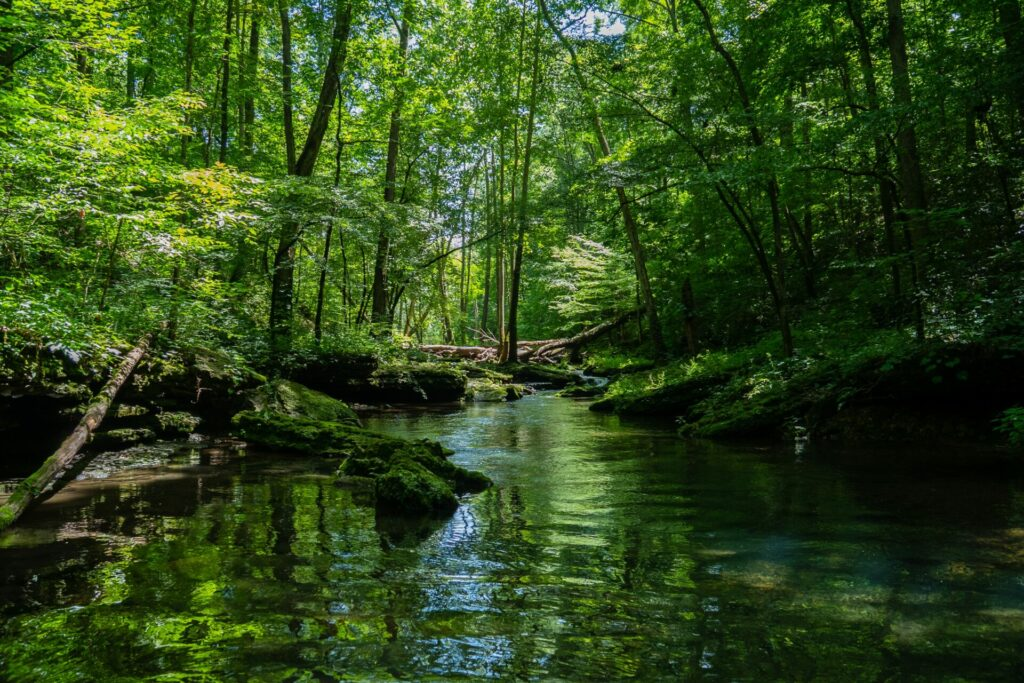 trekking sui fiumi